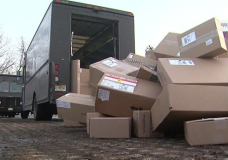 UPS Workers Caught on Video Mishandling Holiday Packages