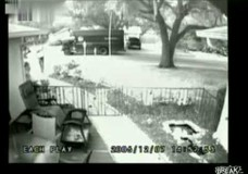 UPS Man Throws Package