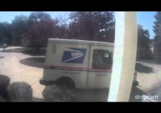 USPS Mailman Throwing a Delivery Package At My Door
