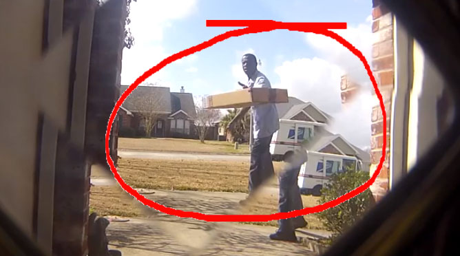 This YouTuber states & Lazy Mailman Throws Package 12 Feet From Front Door | Don\u0027t Throw My ...