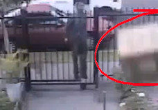 US Postal Worker Competes With FedEx For Fence Package Throw