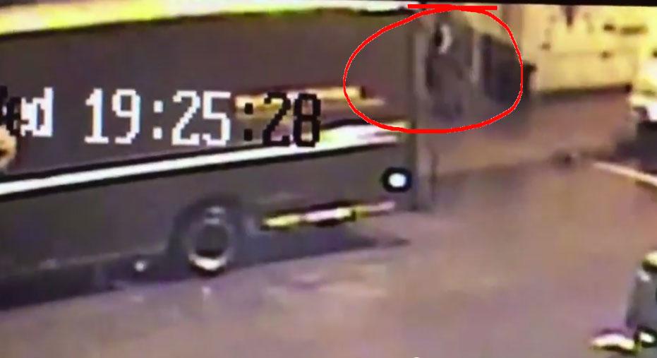 UPS Man Throwing Electronic Package