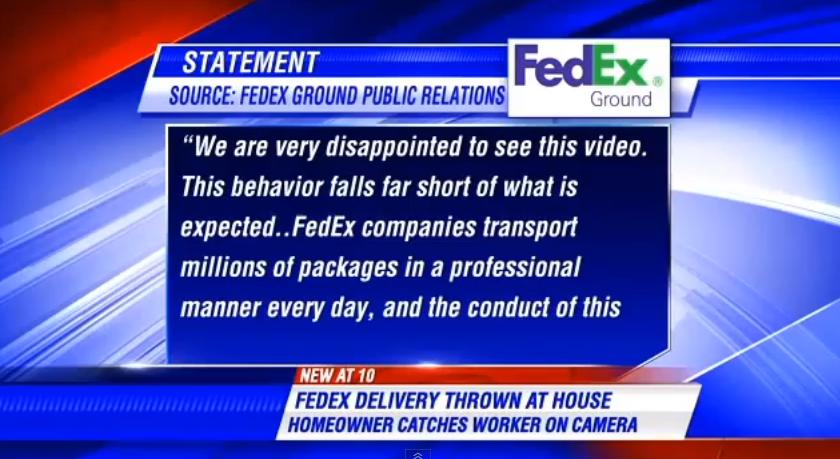 Arlington Fedex Throws Package