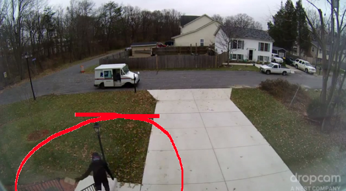 USPS Tosses Package Onto Steps