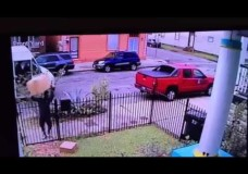FedEx throwing packages over fence (again)