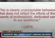 USPS Carrier Swears at Teenager and Lobs Package!
